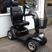 used class 3 road scooter 6-8mph scooters pre owned churchers mobility sussex brighton hove and shoreham